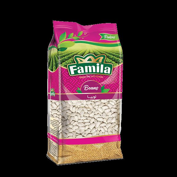 لوبیا سفید ۹۰۰ گرمی فامیلا